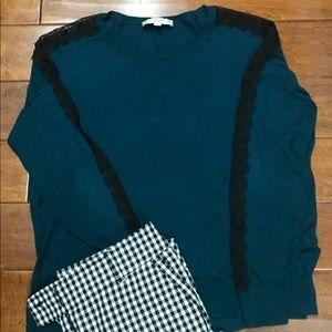 Loft sweater size large.
